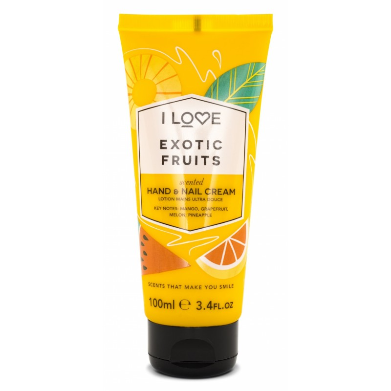 I Love Cosmetics Exotic Fruits Hand & Nail Cream
