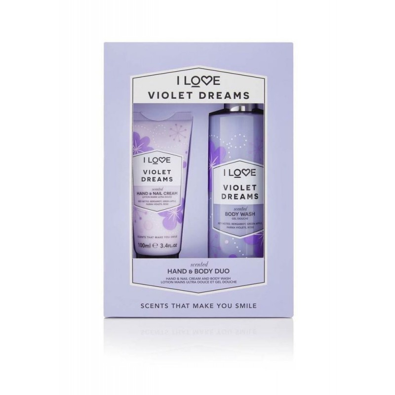 I Love Cosmetics Violet Dreams Hand & Body Duo Set