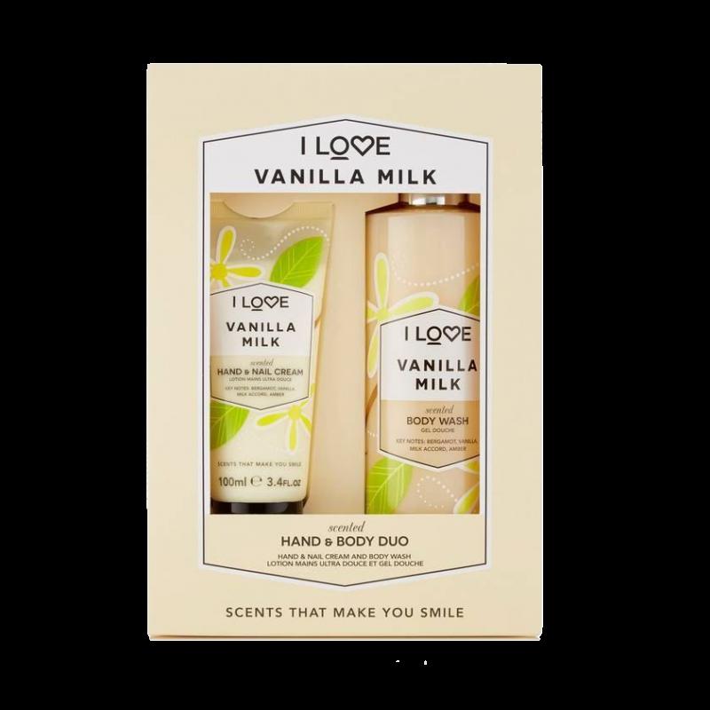 I Love Cosmetics Vanilla Milk Hand & Body Duo Set