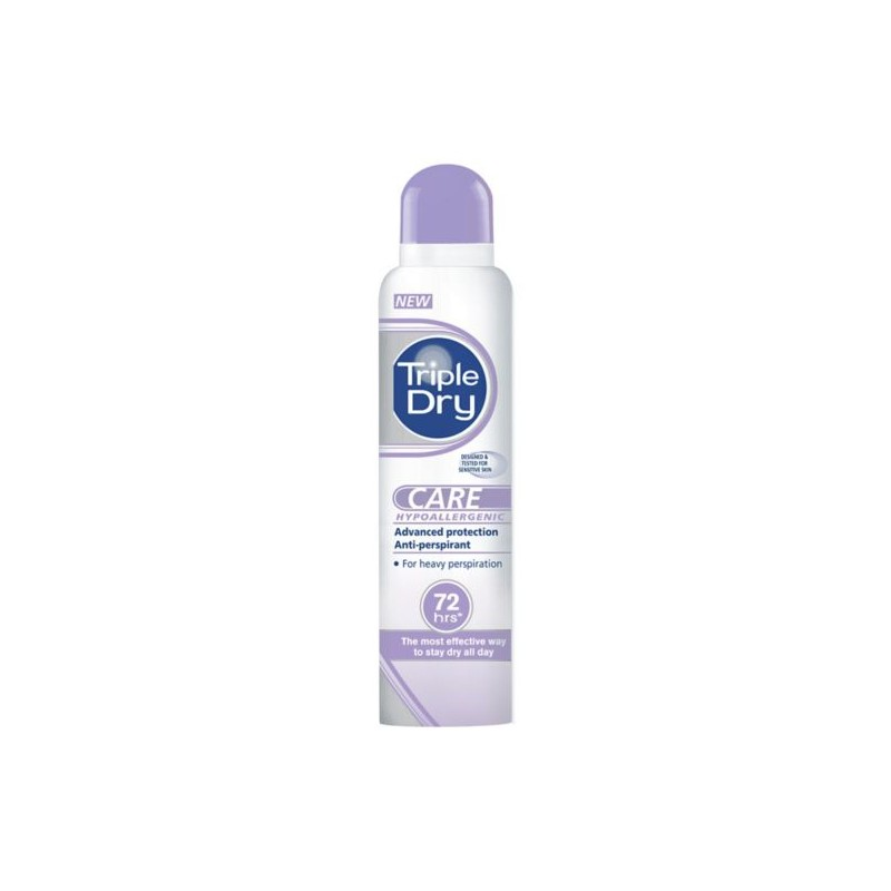 Triple Dry Sensitive Anti-Perspirant Deospray