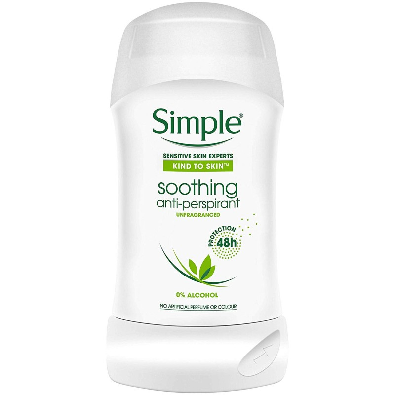 Simple Soothing Anti-Perspirant Deostick