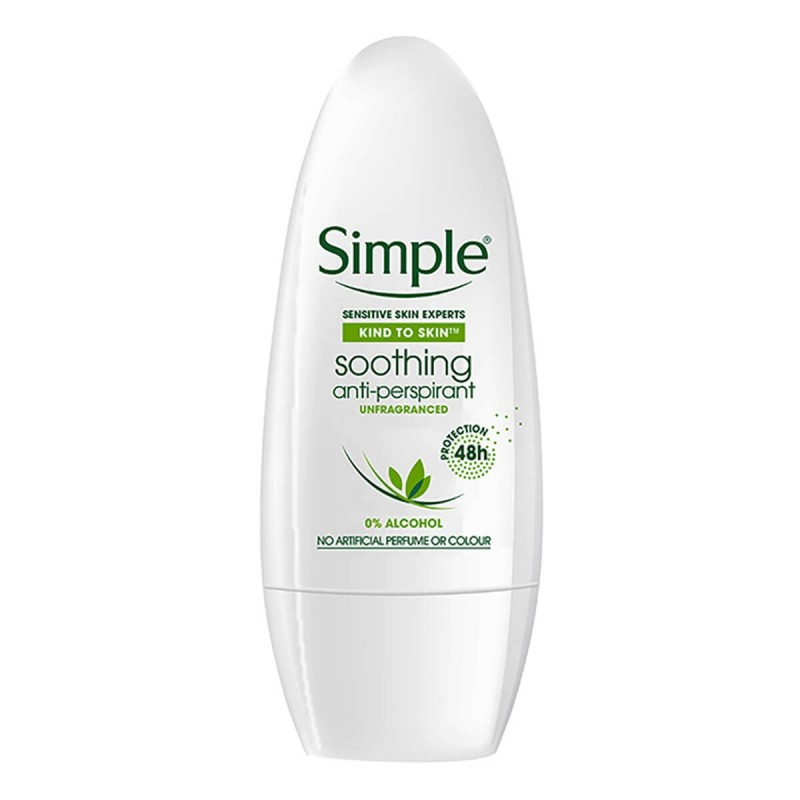 Clear & Simple  Soothing Anti-Perspirant Roll On Deo