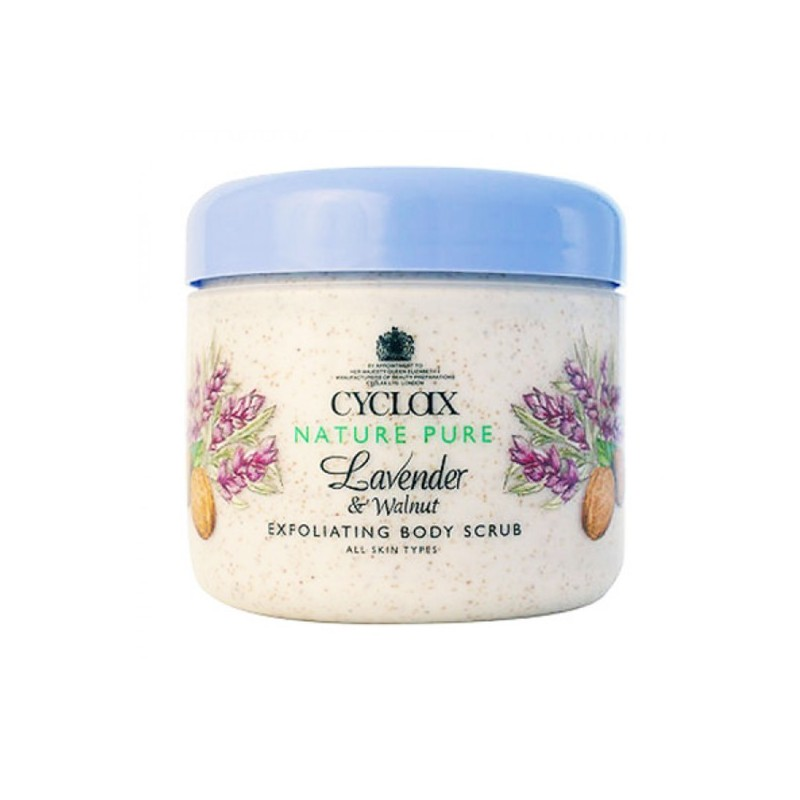 Cyclax Lavender & Walnut Body Scrub
