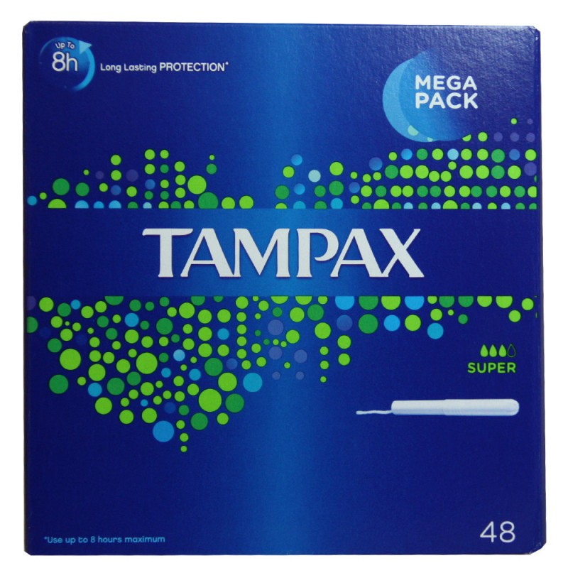 Tampax Super Mega Pack