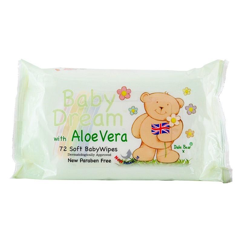 Baby Dream Aloe Vera Wipes
