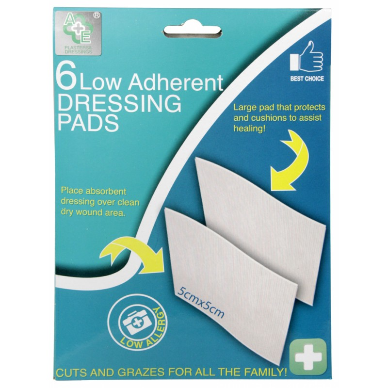 A&E Low Adherent Dressing Pads