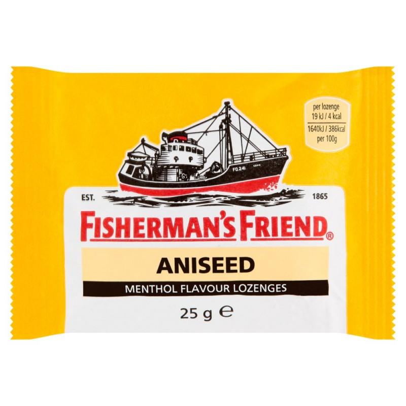 Fisherman's Friend Aniseed Halspastiller