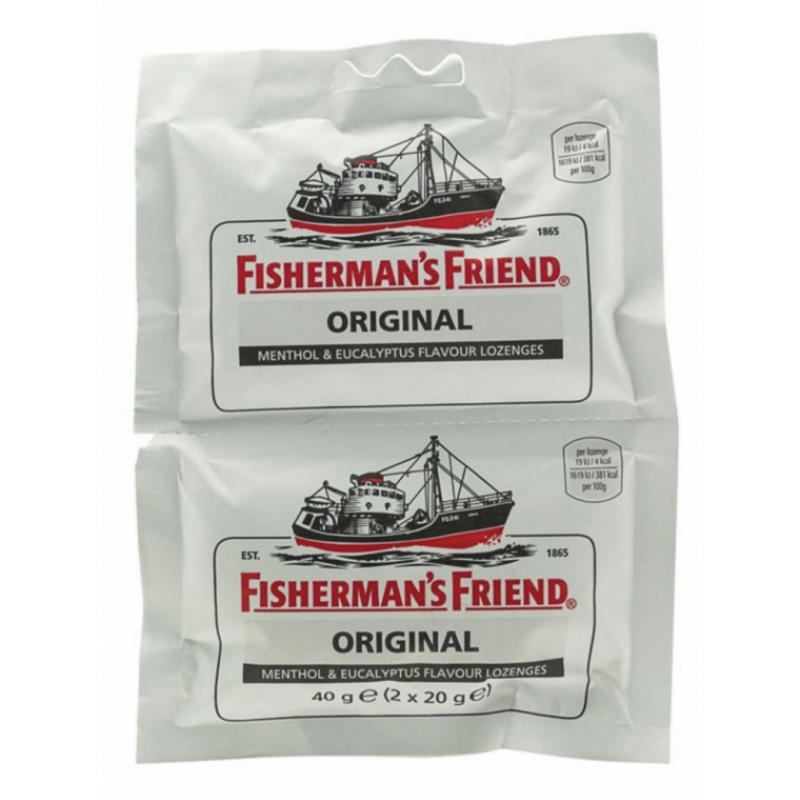 Fisherman's Friend Pastillit Original Tuplapakkaus