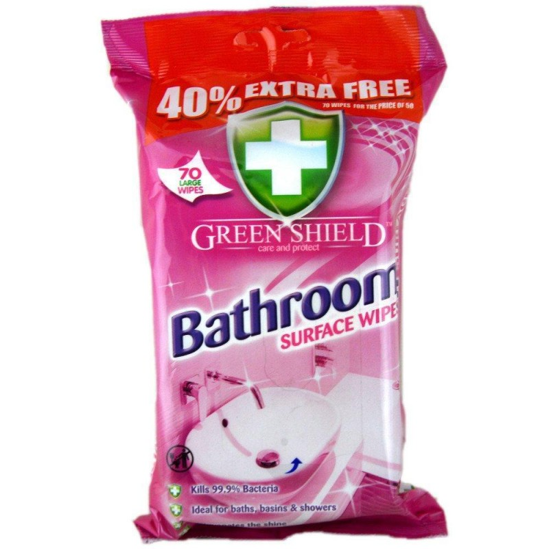 Green Shield Bathroom Surface Wipes