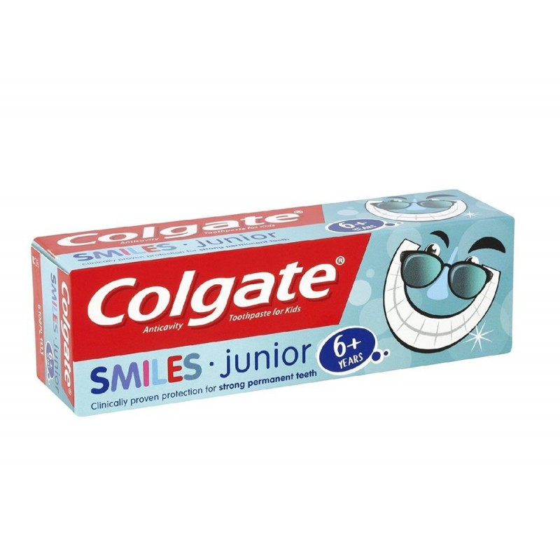 Colgate Smiles Junior Toothpaste 6+ Years
