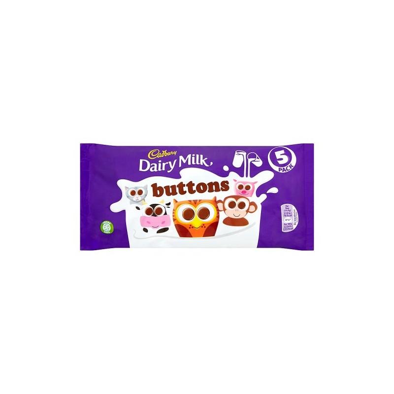 Cadbury Dairy Milk Buttons 5 Pakkaus