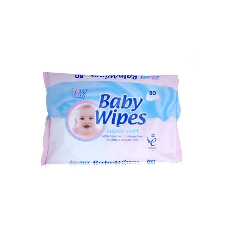 4 My Baby Super Soft Baby Wipes