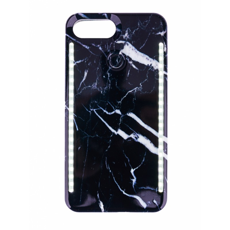 BasicsMobile Selfie Cover Black Marble iPhone 7/8