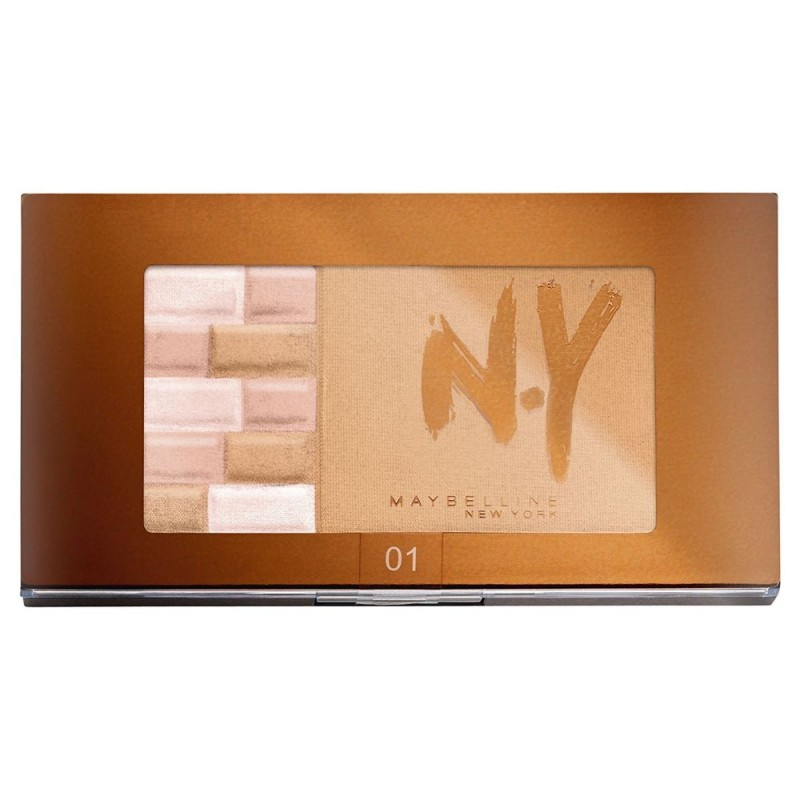 Maybelline N.Y. Bronzing Bricks 01 Blondes