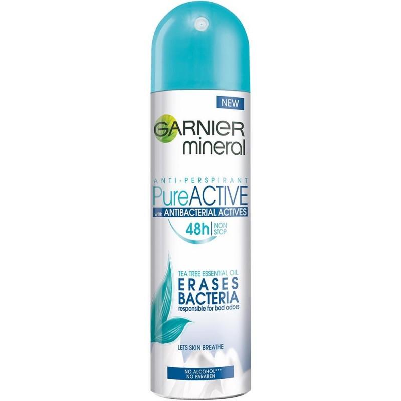 Garnier Pure Active 48HR Antibacterial Deospray