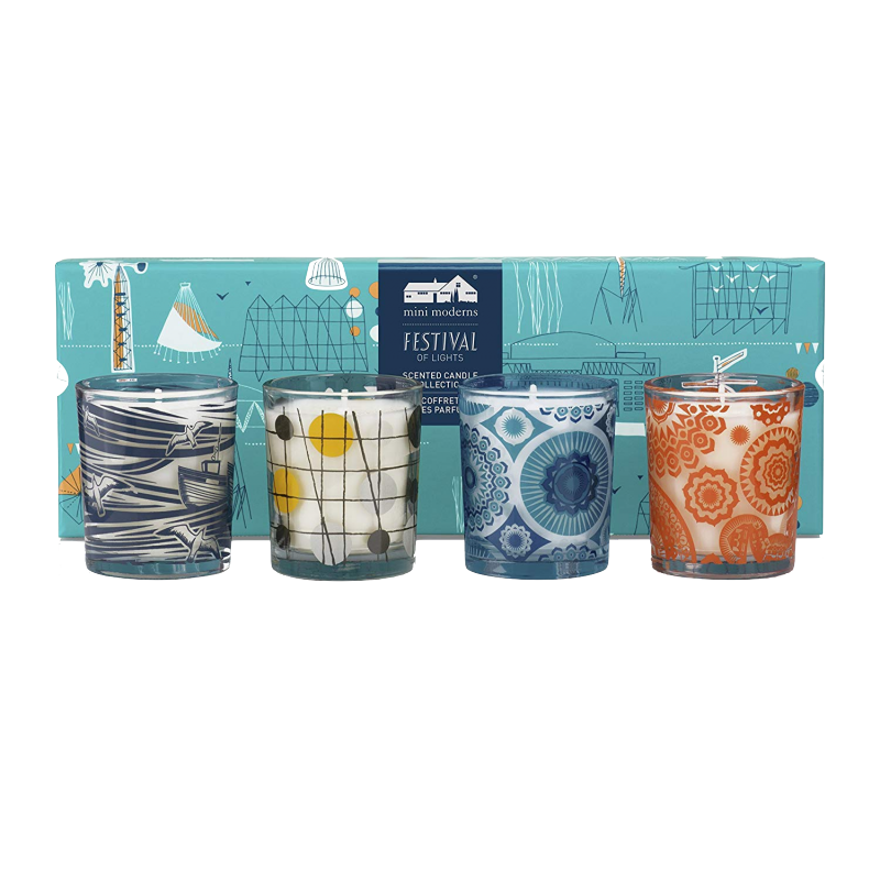 Mini Moderns Festival Of Lights Mini Scented Candles