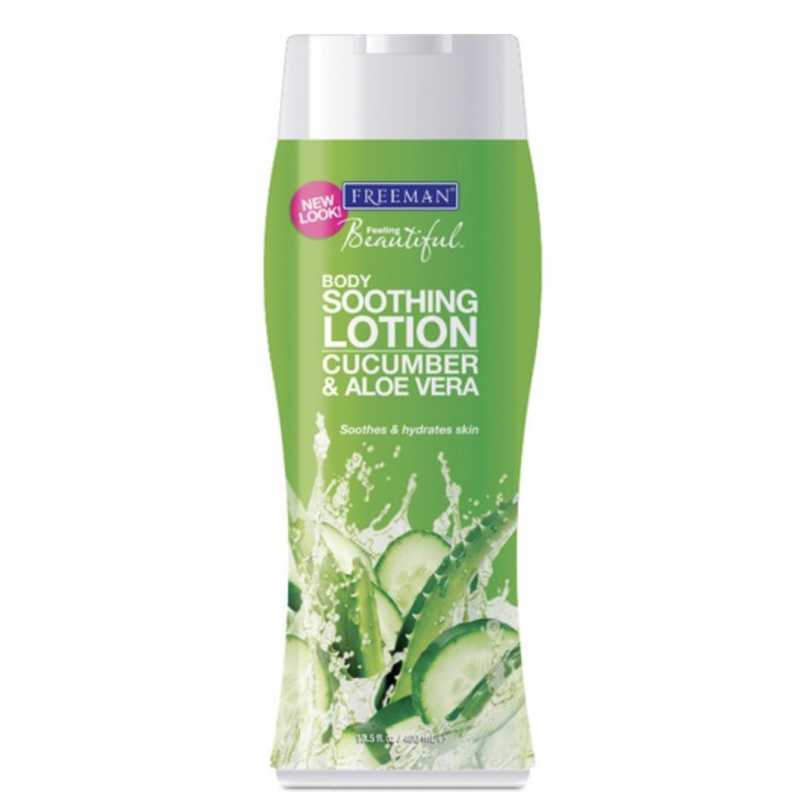 Freeman Soothing Body Lotion Cucumber & Aloe Vera
