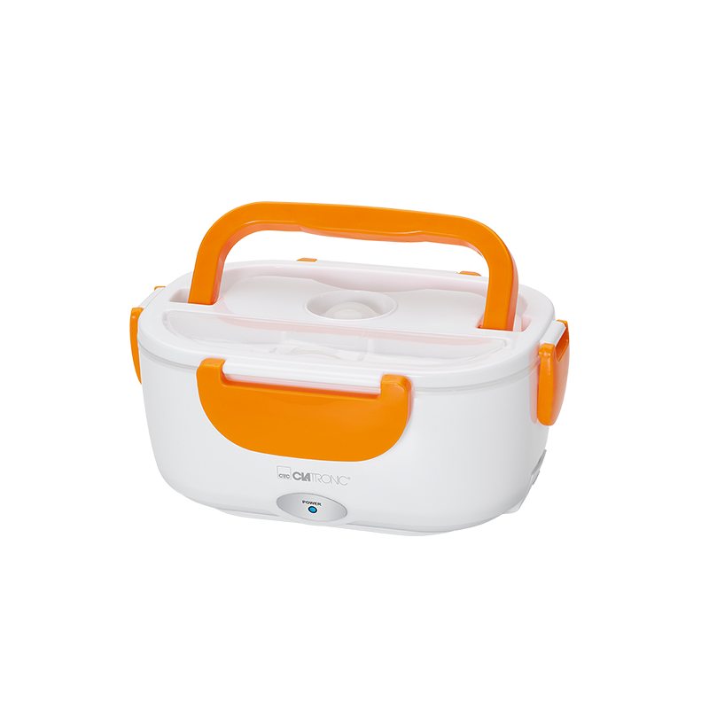 Clatronic LB 3719 Sähköinen lounaslaatikko Valkoinen & Oranssi
