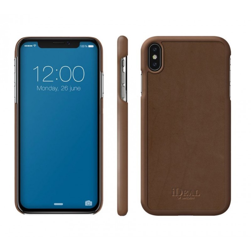 iDeal Of Sweden Como Case iPhone XS Max Brown