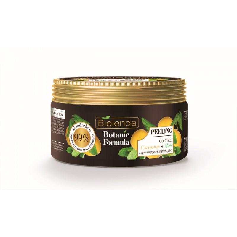 Bielenda Botanic Formula Lemon & Mint Body Scrub
