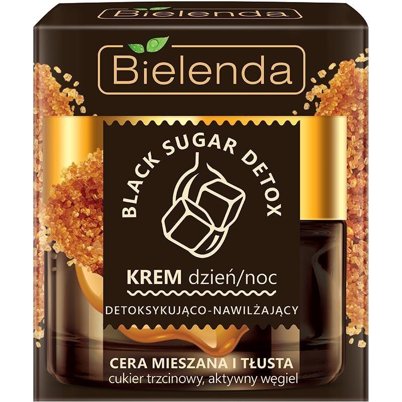 Bielenda Black Sugar Detox Detoxifying Face Cream