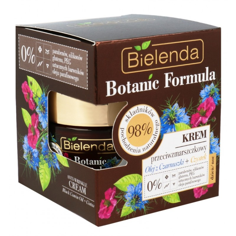 Bielenda Botanic Formula Cumin Oil Anti Wrinkle Face Cream