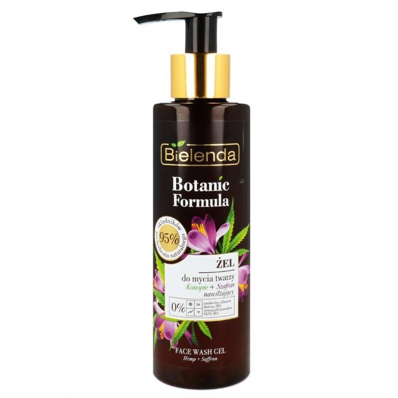Bielenda Botanic Formula Hemp & Saffron Cleansing Gel
