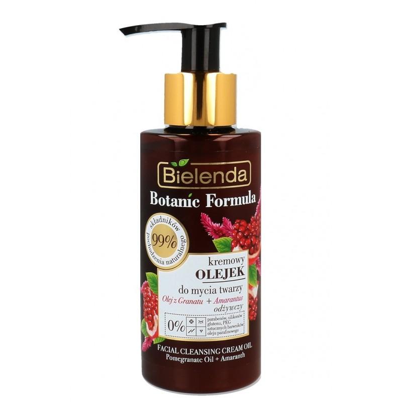 Bielenda Botanic Formula Pomegranate Cleansing Cream Oil