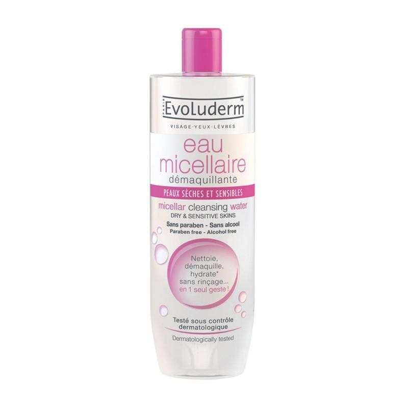 Evoluderm Micellar Cleansing Water Dry & Sensitive Skin