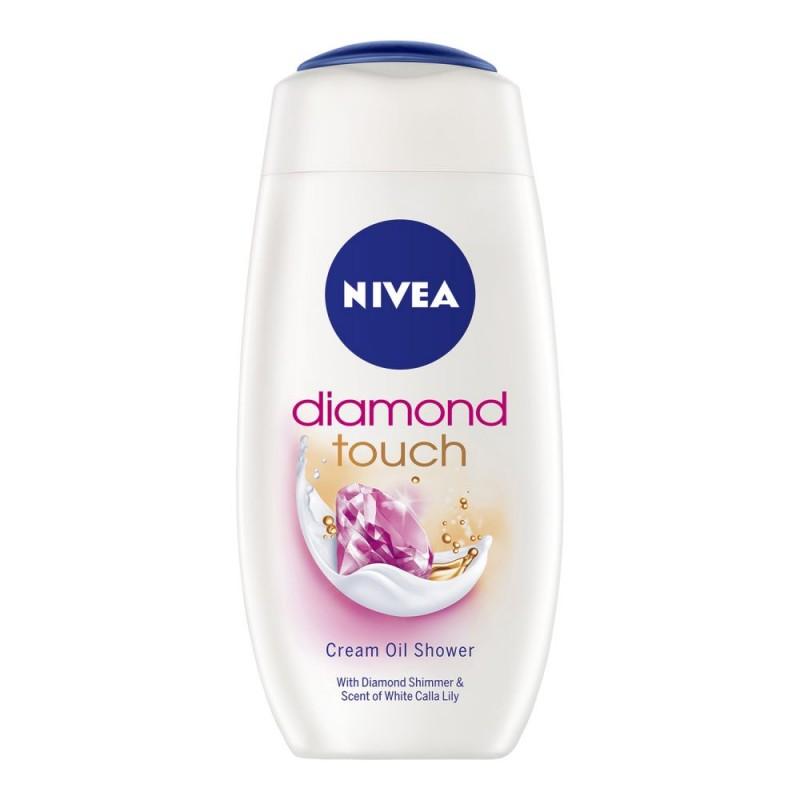 Nivea Diamond Touch Cream Oil Shower