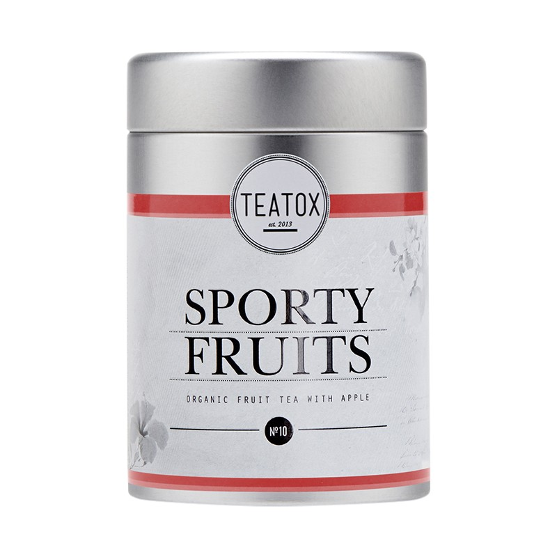 Teatox  Sporty Fruits Organic Fruit Tea