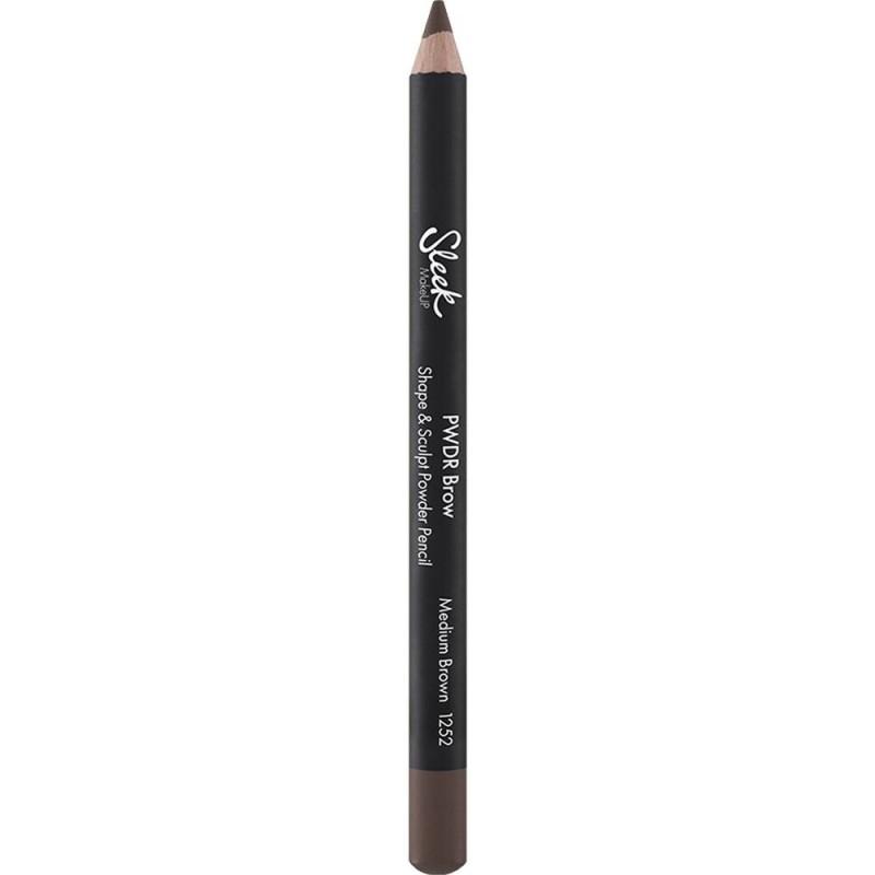 Sleek Makeup PWDR Brow Pencil Medium Brown