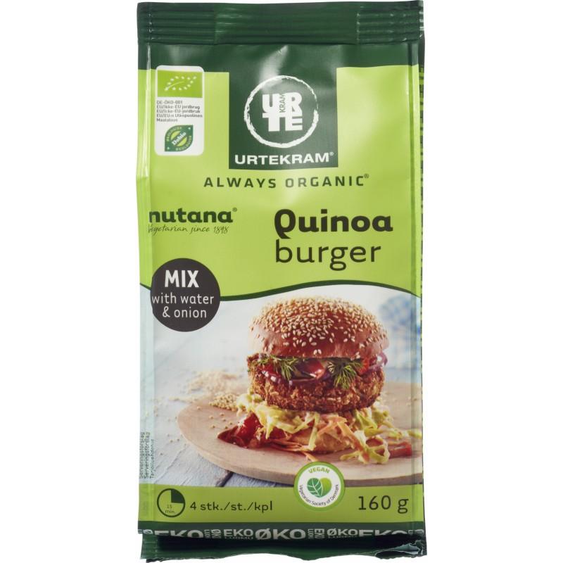 Urtekram Quinoa Burger Mix Øko