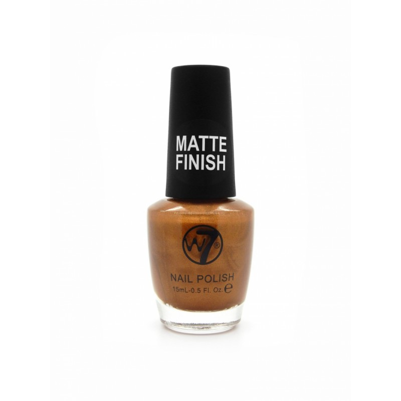 W7 Nailpolish 132 Matte Gold