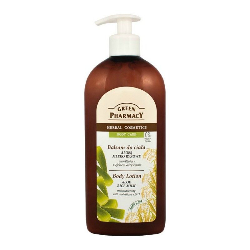 Green Pharmacy Aloe & Rice Milk Body Lotion