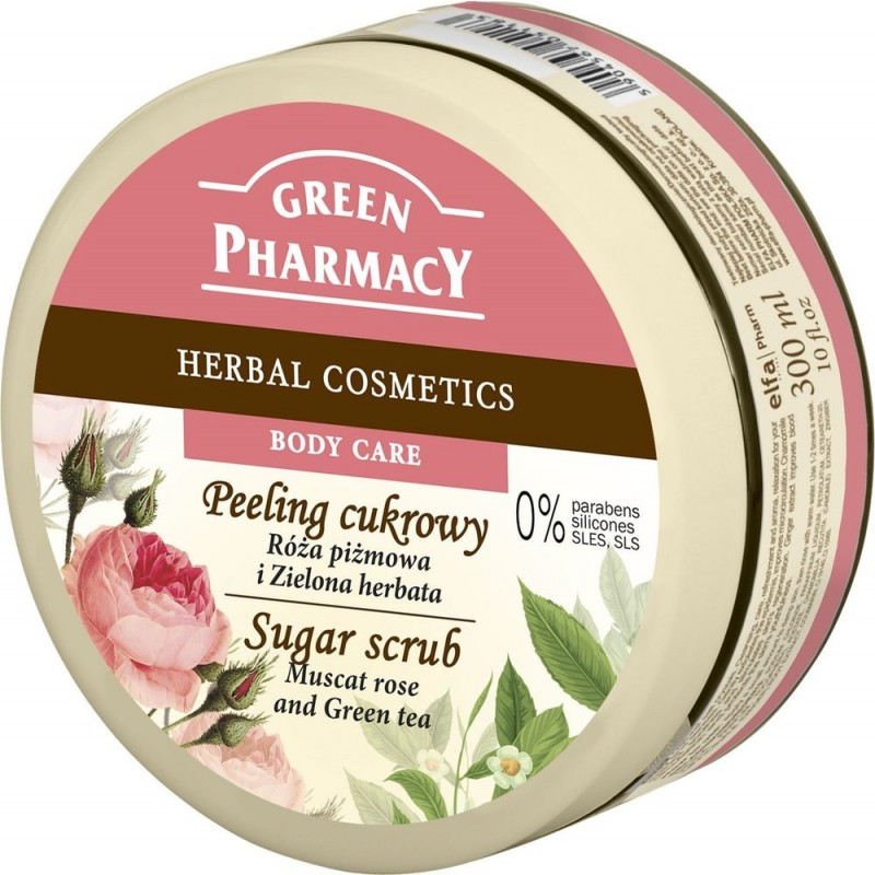 Green Pharmacy Muscat Rose & Green Tea Sugar Scrub