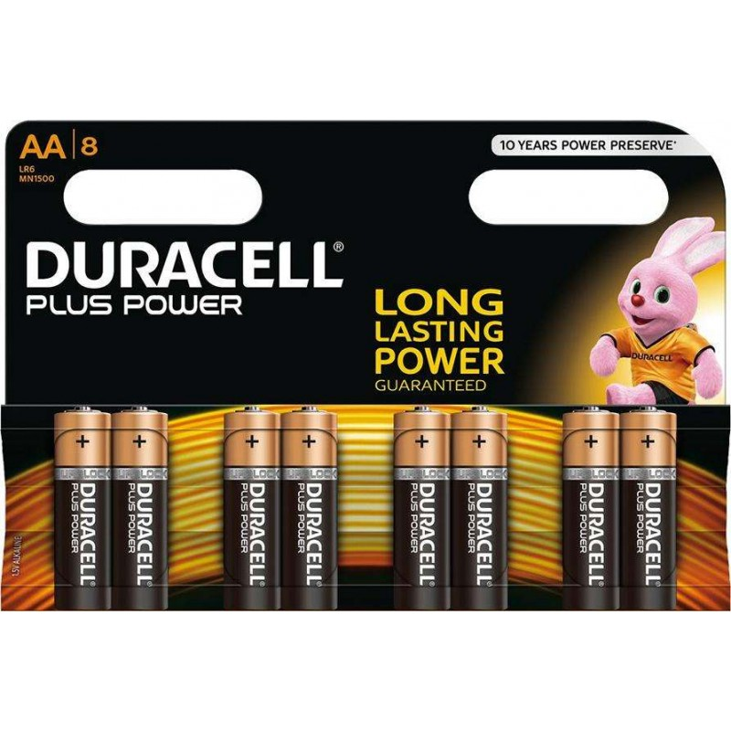 Duracell Plus Power MN1500 Alkaline AA