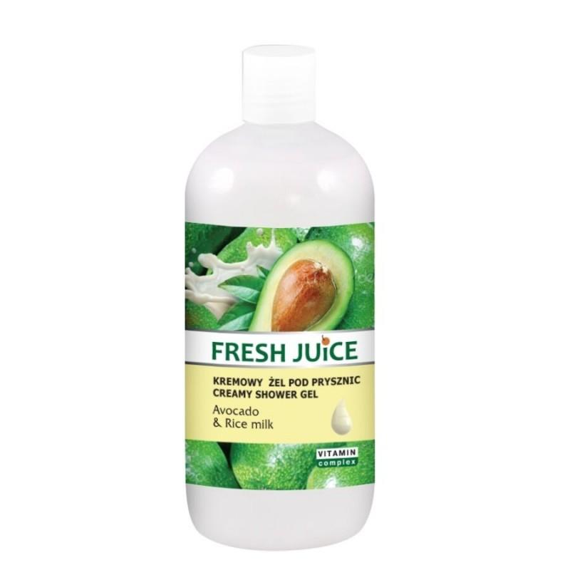 Fresh Juice Avocado & Rice Milk Shower Gel