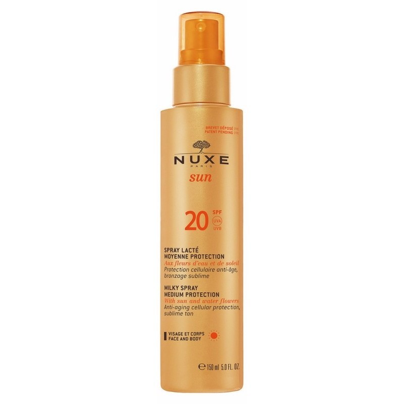 Nuxe Sun Milky Spray Medium Protection SPF20