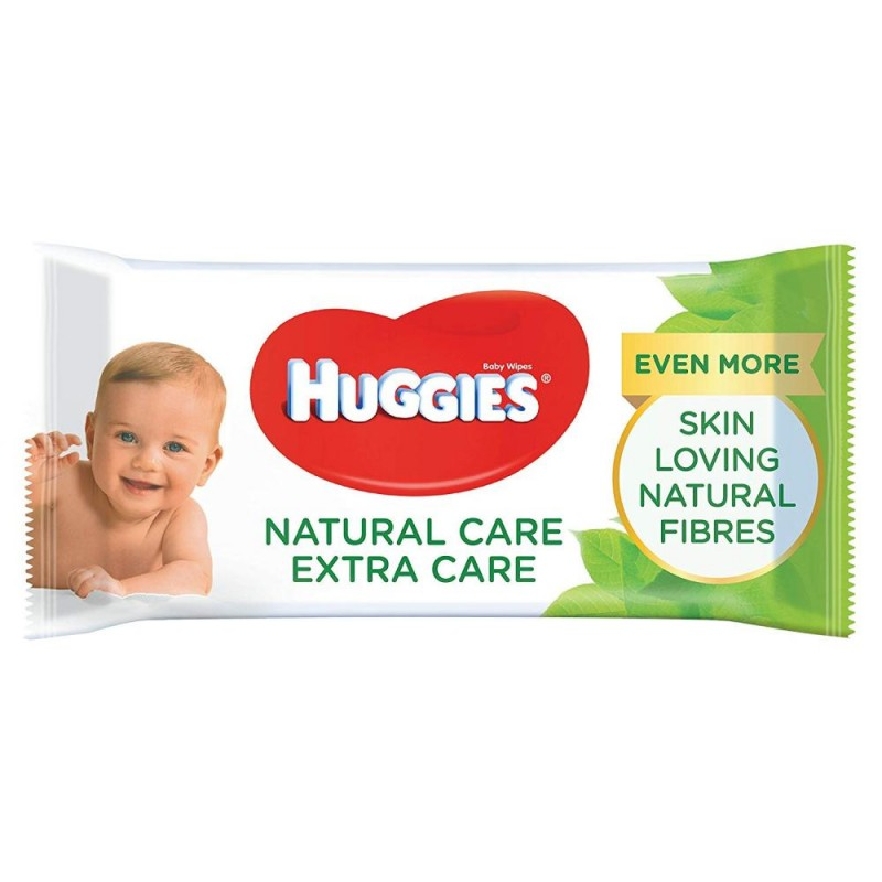 Huggies Baby Wipes Natural Care Extra