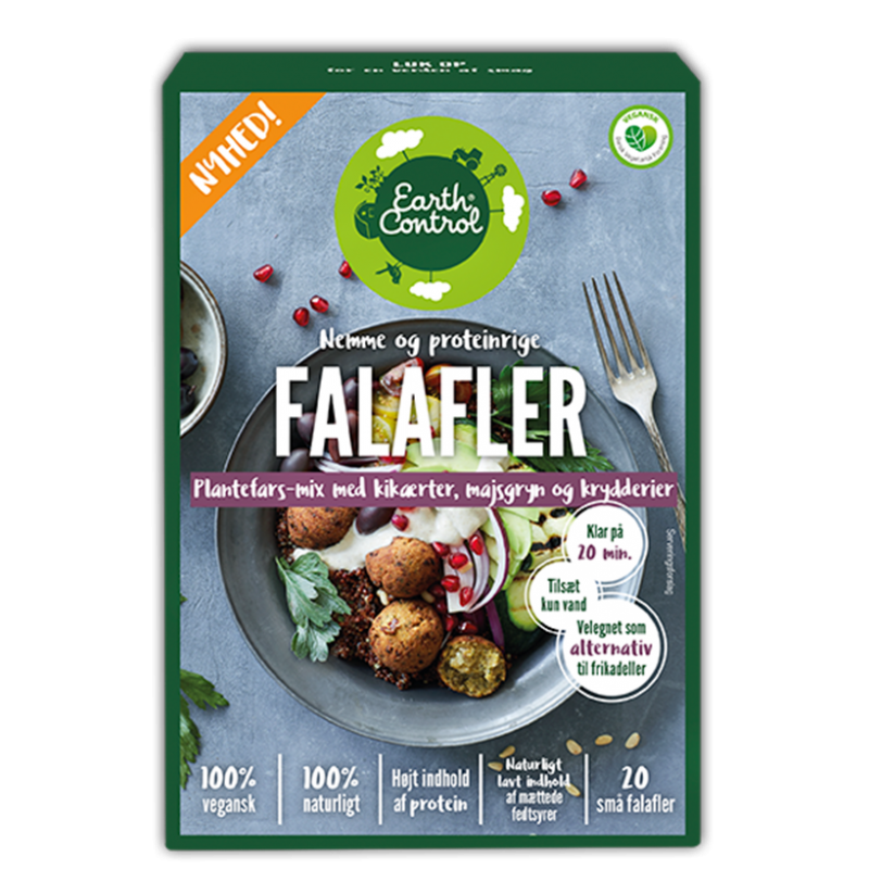 Earth Control Falafler Plantefars Mix