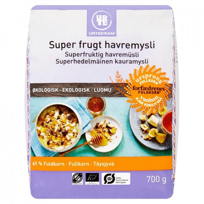 Urtekram Super Frugt Havremysli Øko