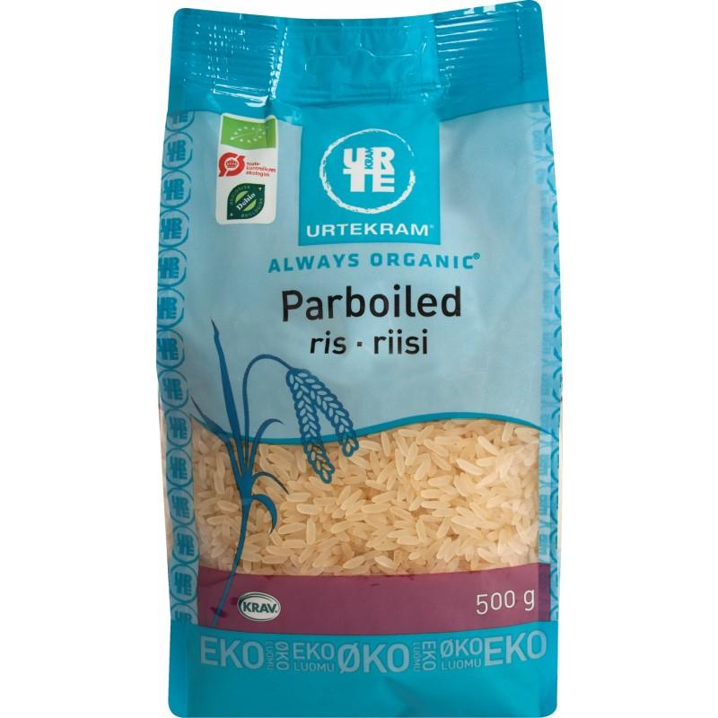 Urtekram Parboiled Riisi luomu