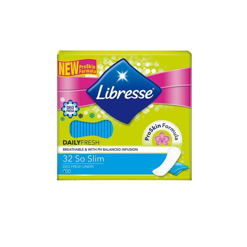 Libresse So Slim Deo Fresh Daily Liners