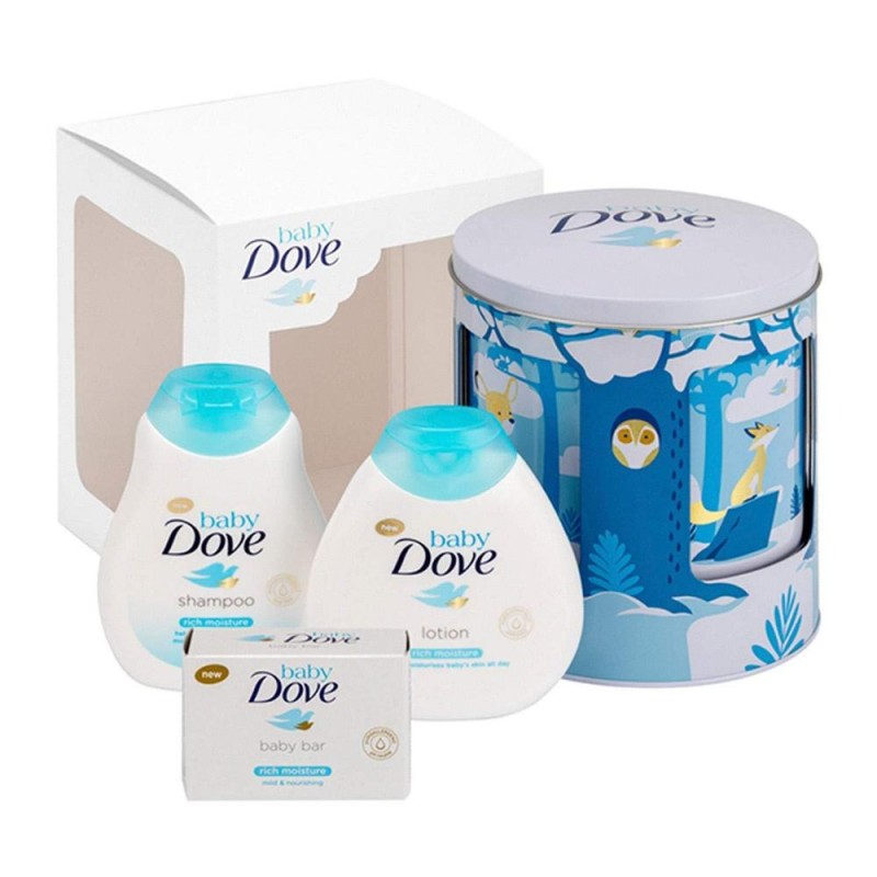 Dove Baby Lullaby Tin Box Set