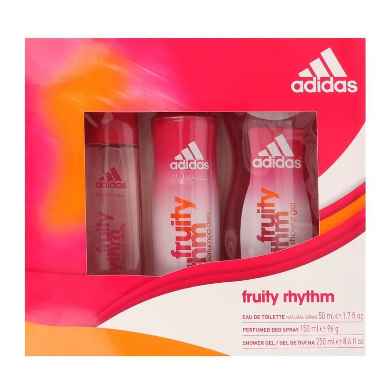 Adidas Fruity Rhythm EDT & Deospray & Shower Gel