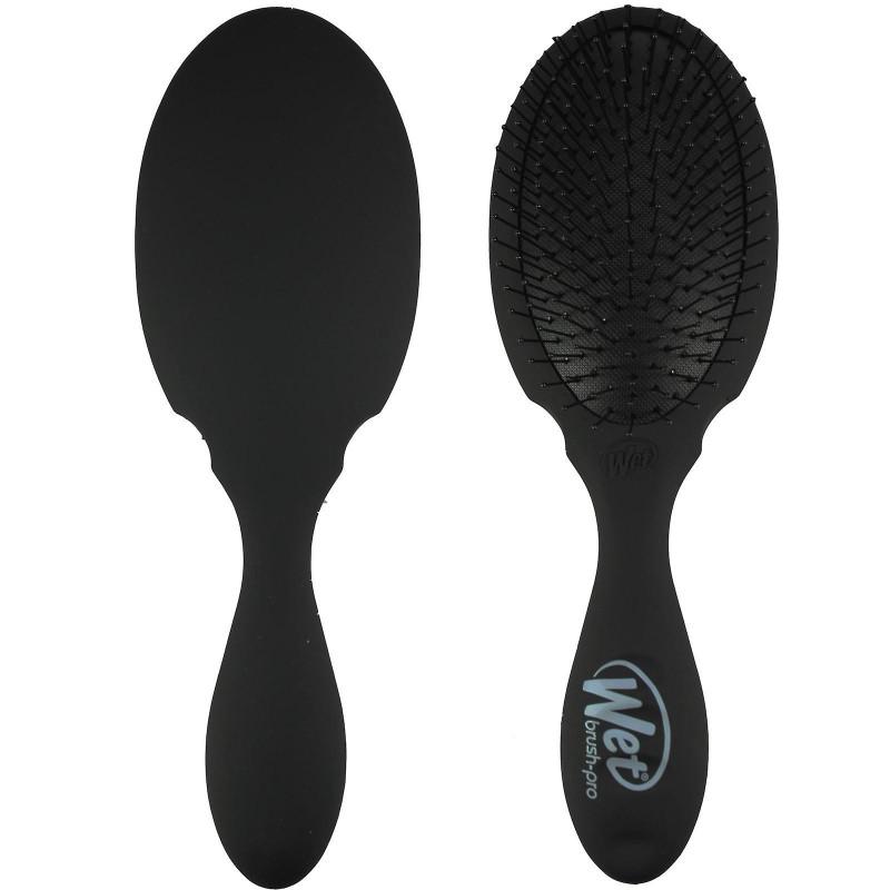 The Wet Brush Pro Detangler Plus Paddle Black