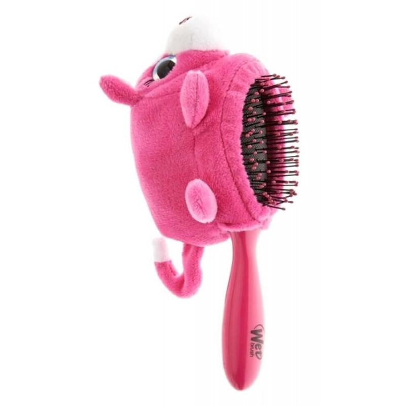 The Wet Brush Plush Brush Pink Kitten