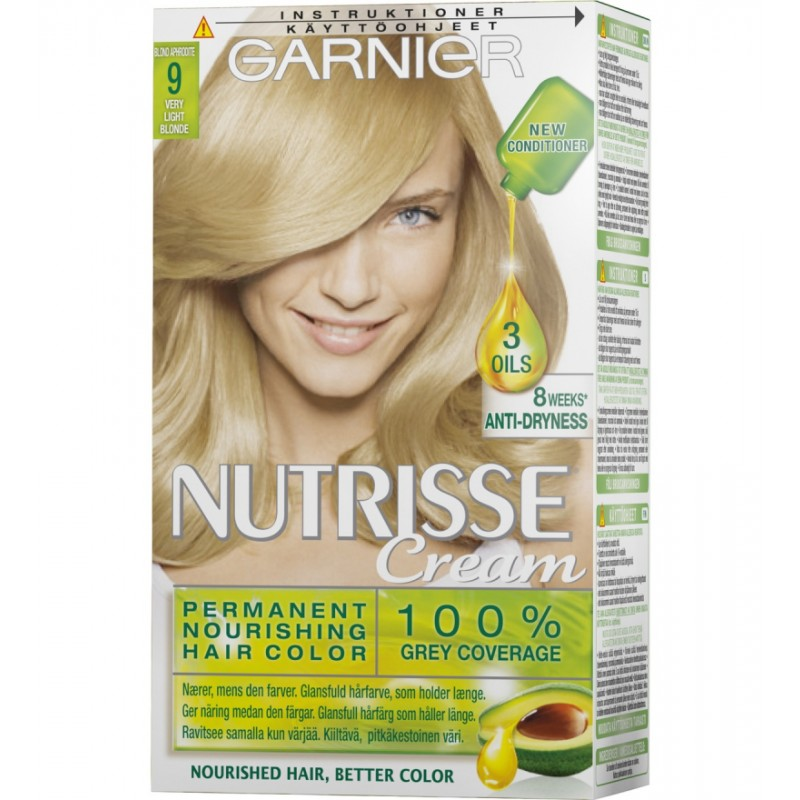 Garnier Nutrisse Creme 9 Very Light Blonde