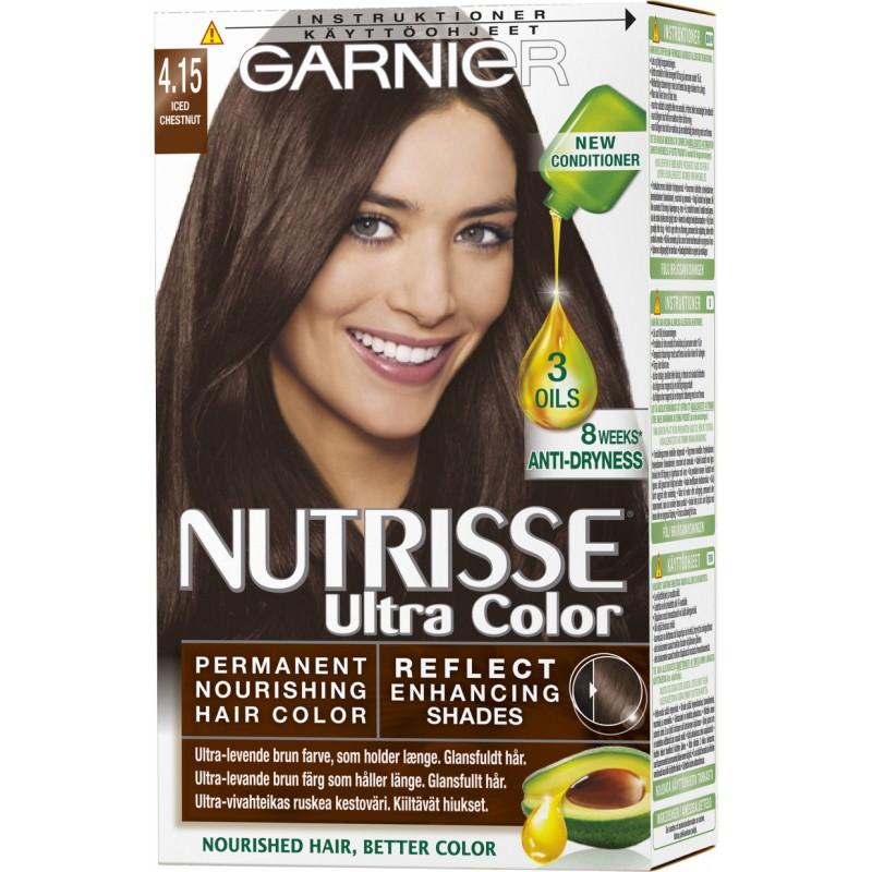 Garnier Nutrisse Ultra Color 4.15 Iced Chestnut